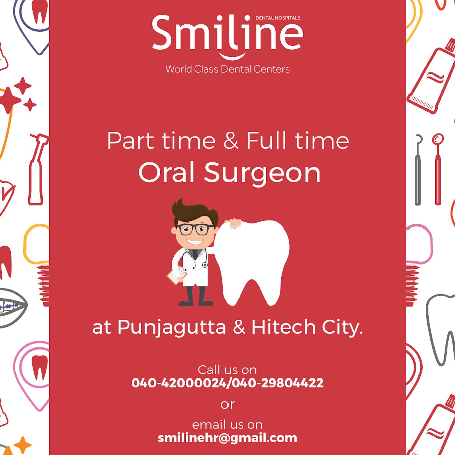 part time and full time oral surgeon